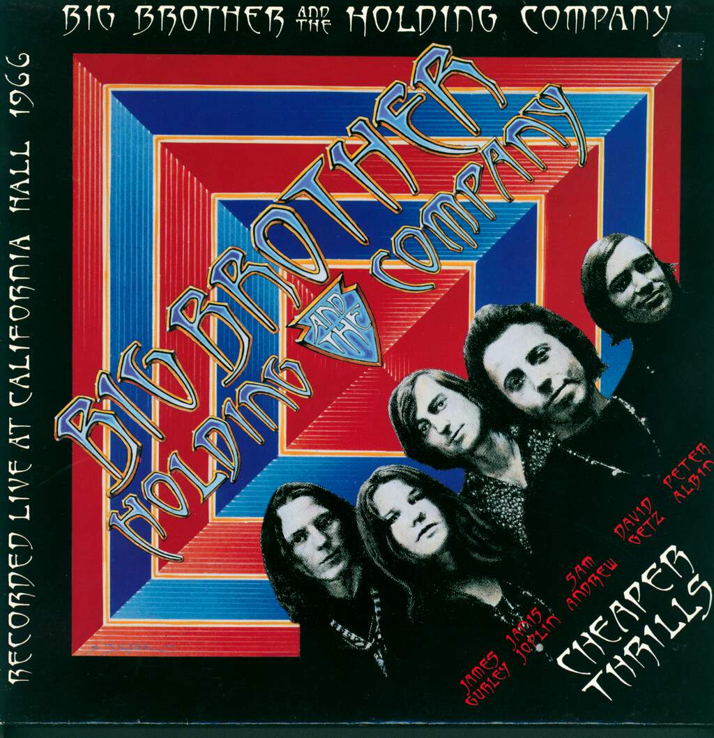 Big Brother & The Holding Company: Cheaper Thrills, LP (Vinyl)