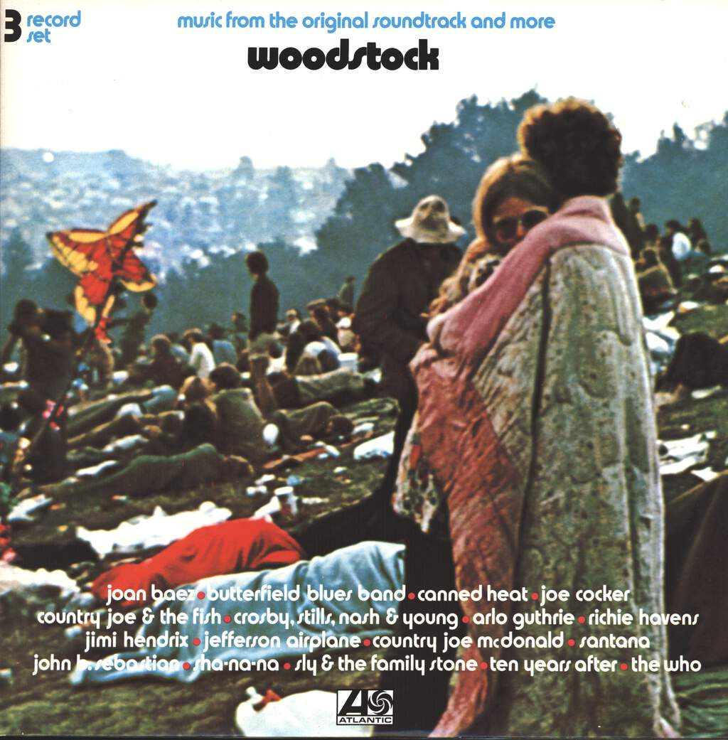 Various Woodstock Music From The Original Soundtrack