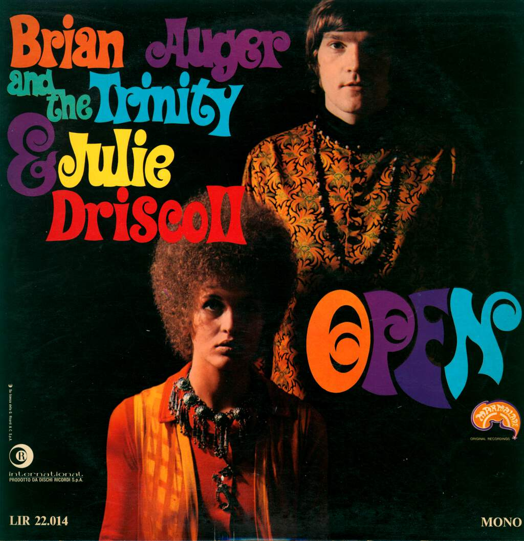 Julie Driscoll, Brian Auger & The Trinity: Open, LP (Vinyl)