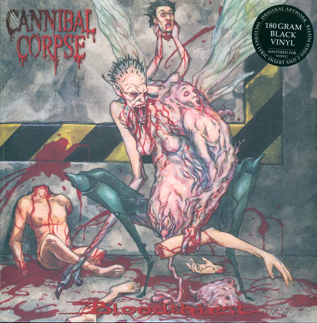 Cannibal Corpse: Bloodthirst, LP (Vinyl)