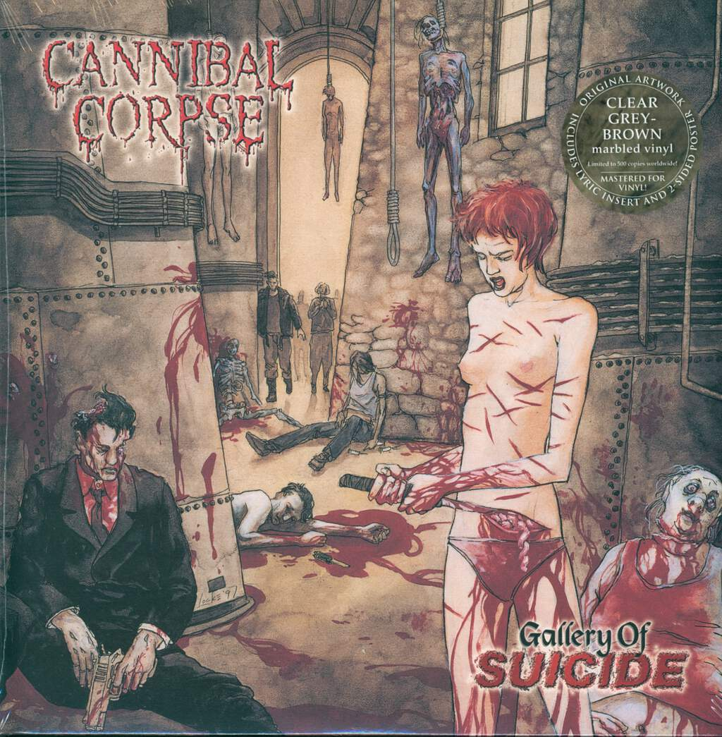 Cannibal Corpse: Gallery Of Suicide, LP (Vinyl)