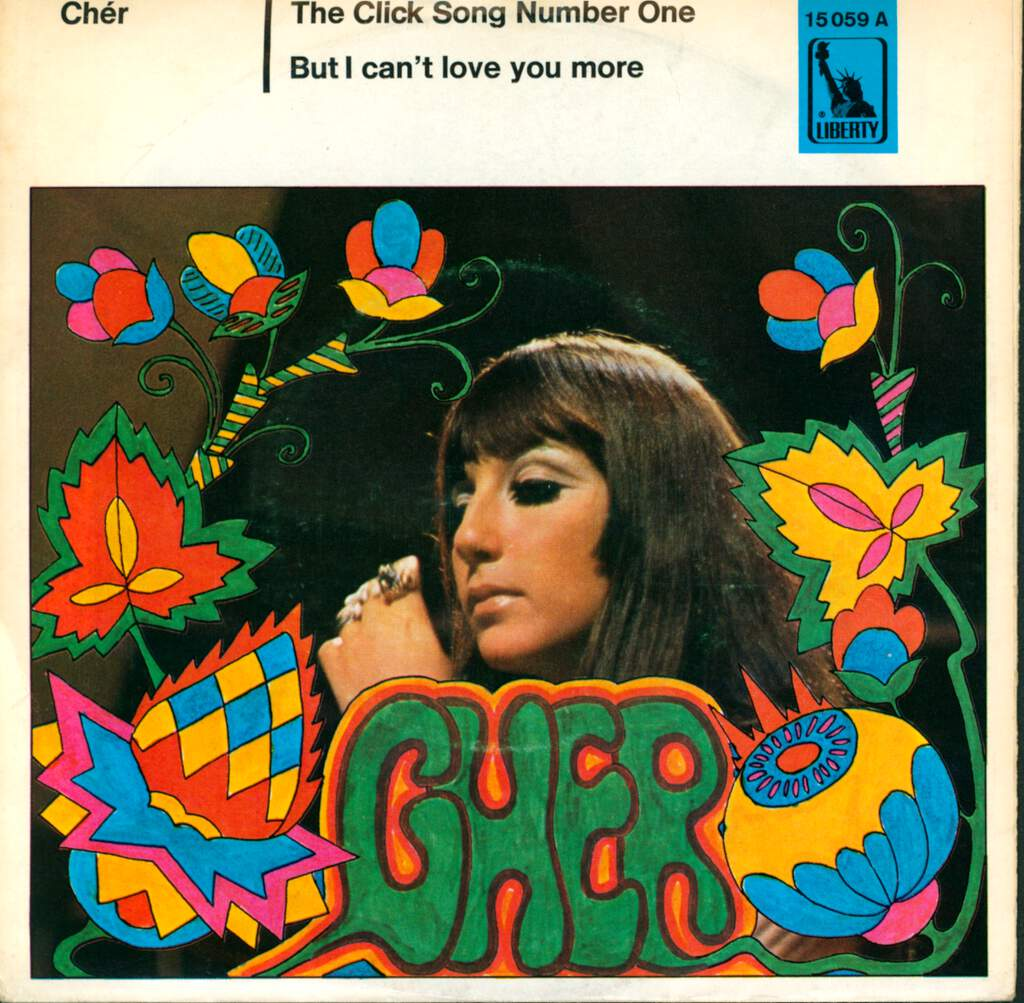 "Cher: The Click Song Number One / But I Can't Love You More, 7"" Single (Vinyl)"