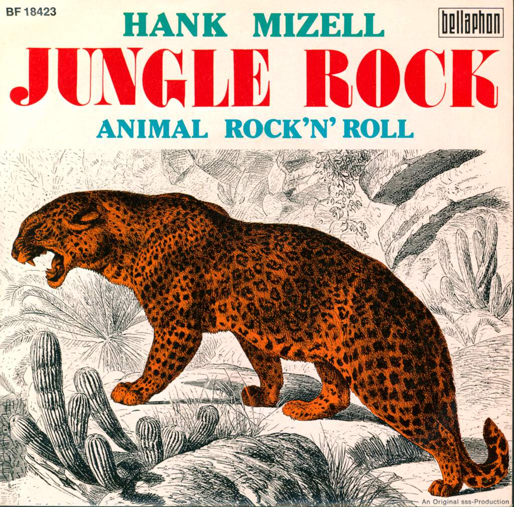 "Hank Mizell: Jungle Rock, 7"" Single (Vinyl)"