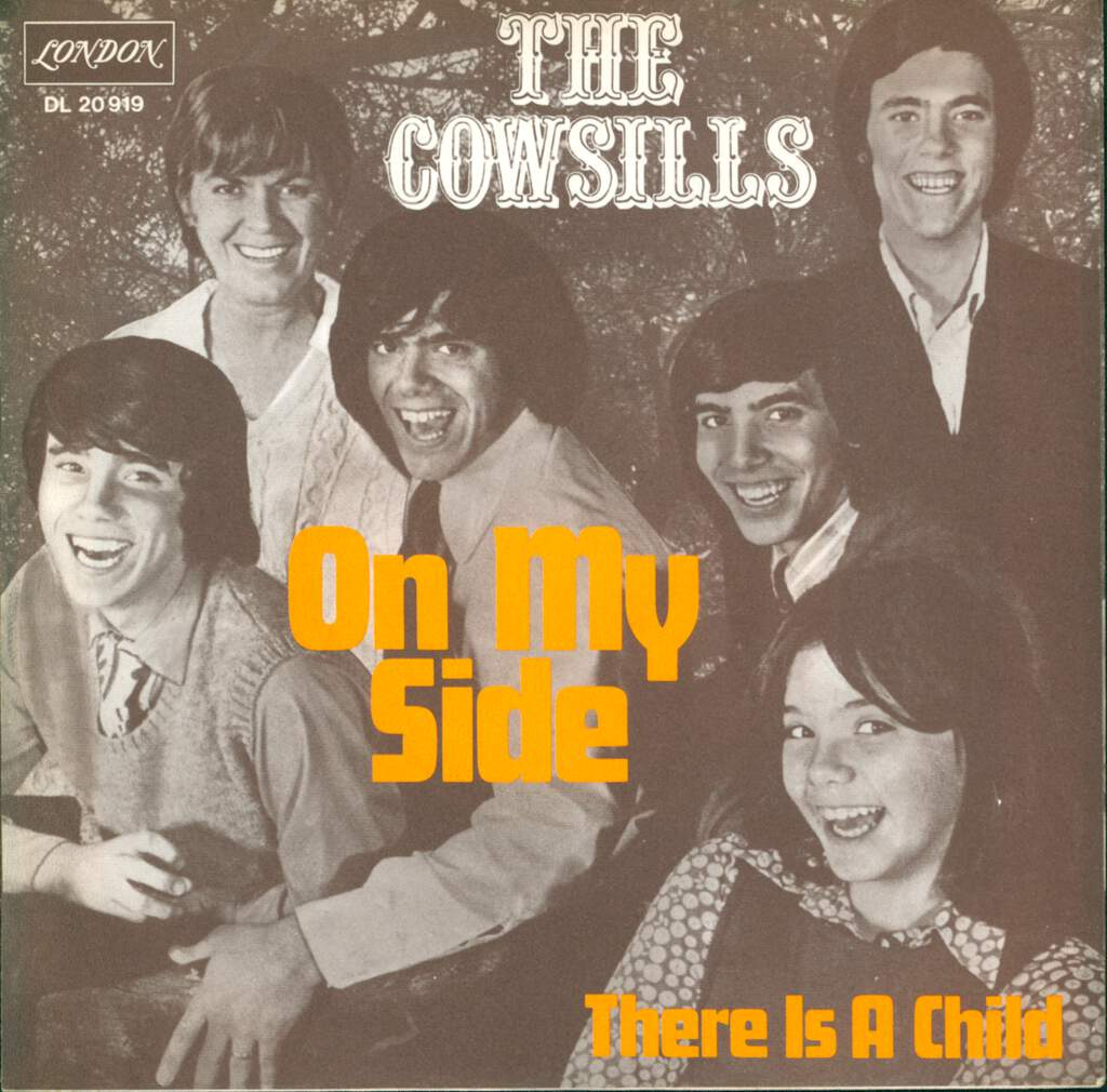 "The Cowsills: On My Side, 7"" Single (Vinyl)"