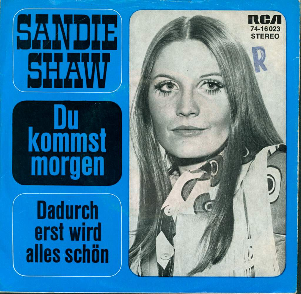"Sandie Shaw: Du Kommst Morgen, 7"" Single (Vinyl)"