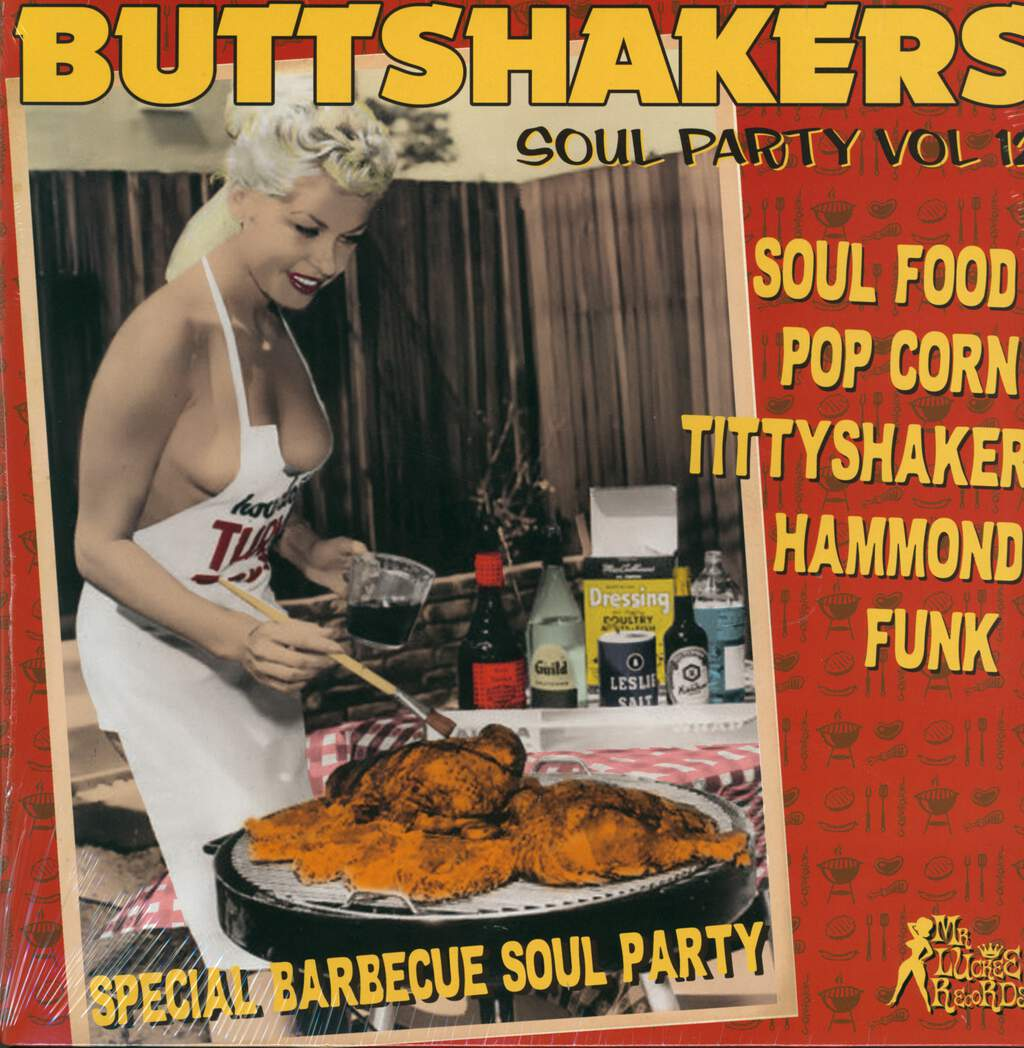 Various: Buttshakers Soul Party Vol 12 - Special Barbecue Soul Party, LP (Vinyl)