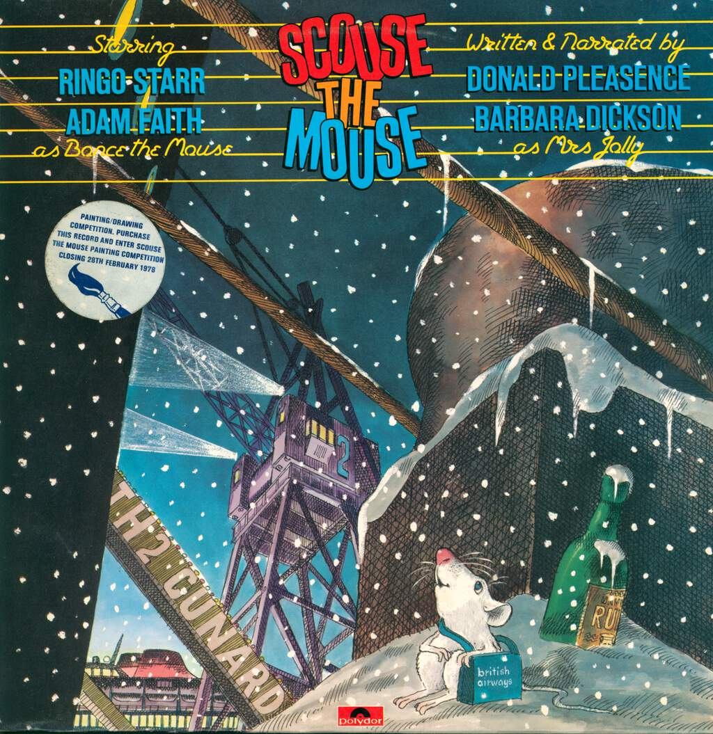 Various: Scouse The Mouse, LP (Vinyl)