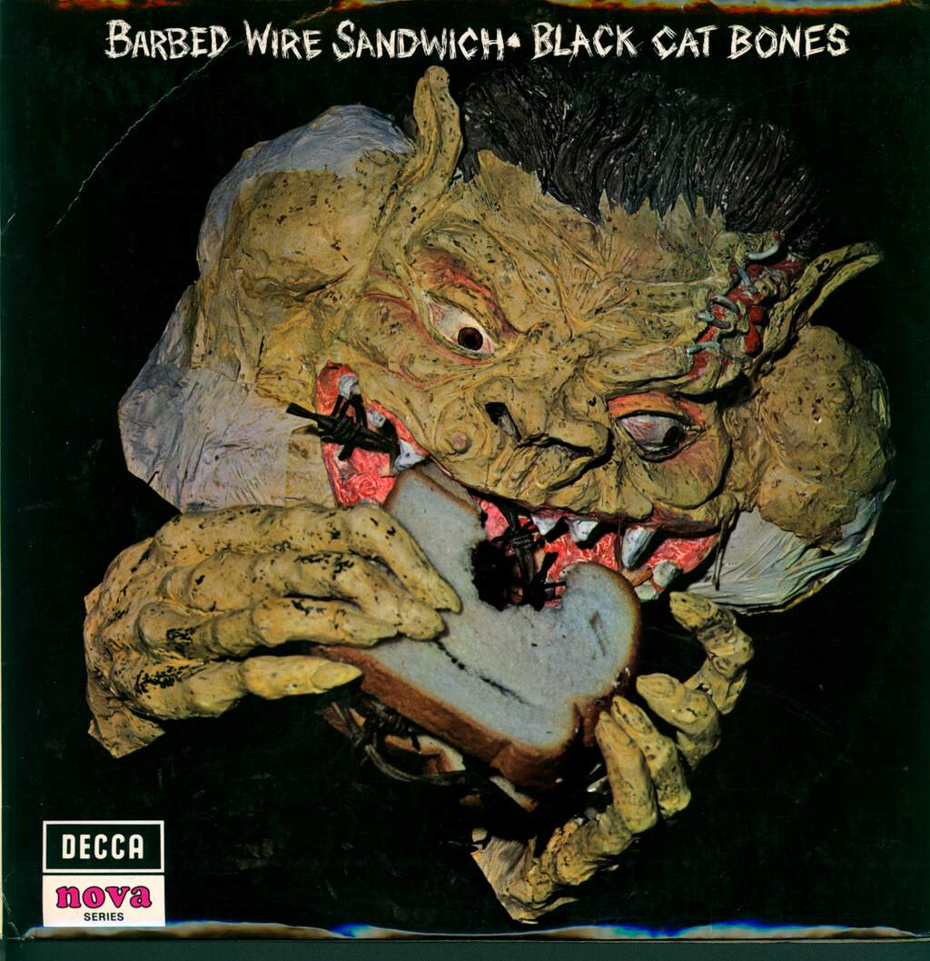 Black Cat Bones: Barbed Wire Sandwich, LP (Vinyl)