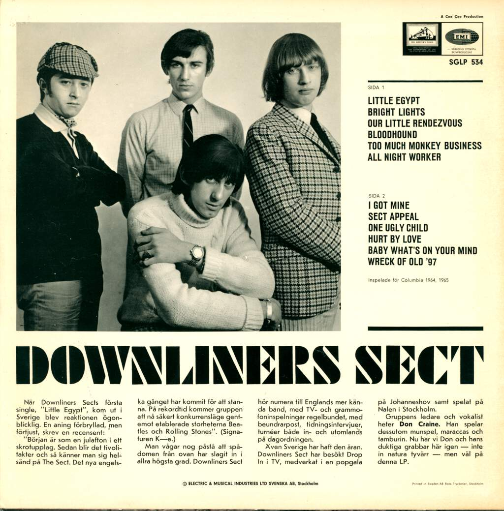 Downliners Sect: Downliners Sect, LP (Vinyl)