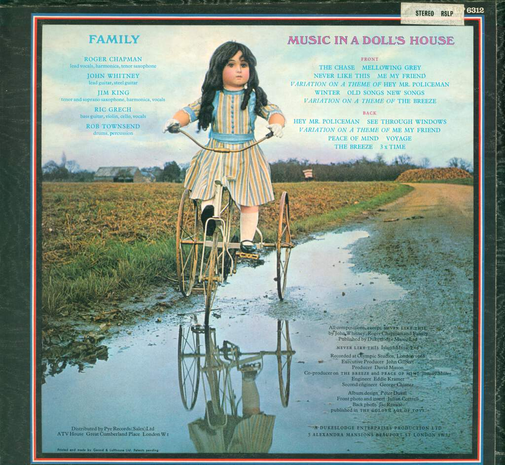 Family: Music In A Doll's House, LP (Vinyl)