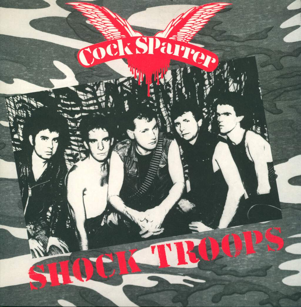 Cock Sparrer: Shock Troops, LP (Vinyl)