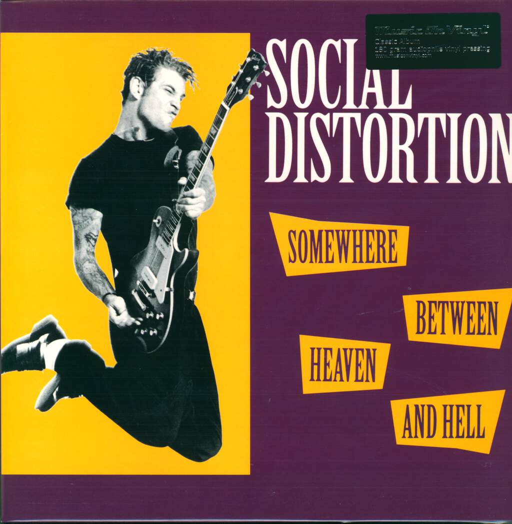 Social Distortion: Somewhere Between Heaven And Hell, LP (Vinyl)