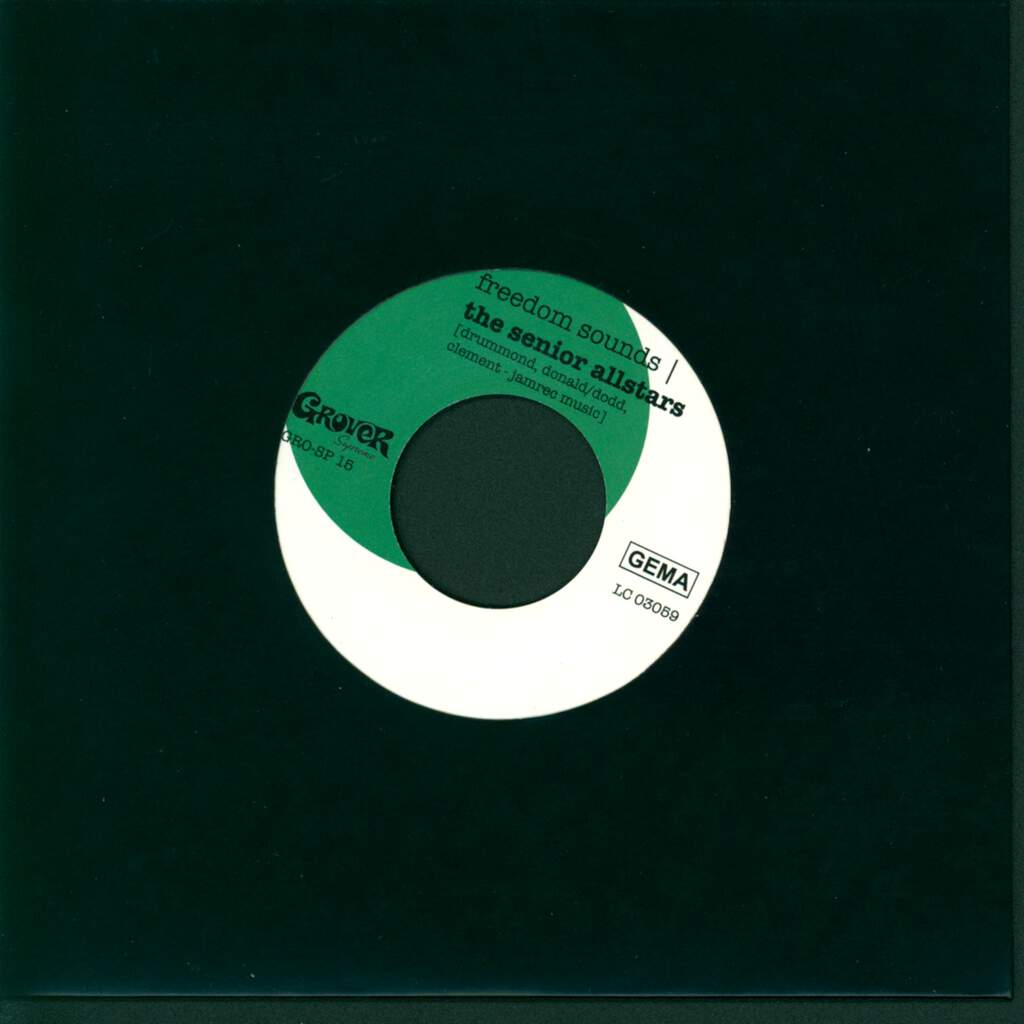 "The Senior Allstars: Freedom Sounds, 7"" Single (Vinyl)"