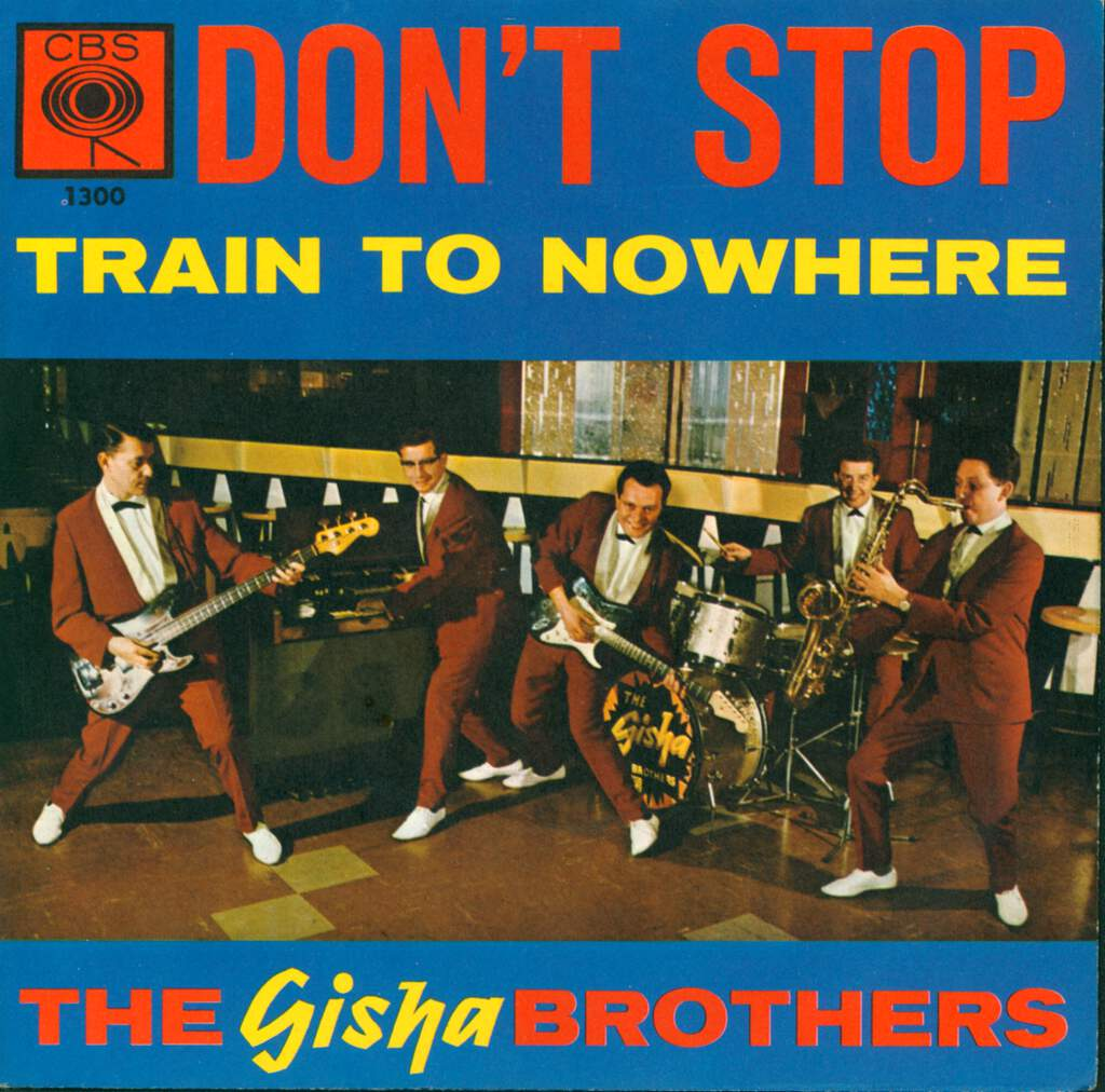 "The Gisha Brothers: Don't Stop, 7"" Single (Vinyl)"