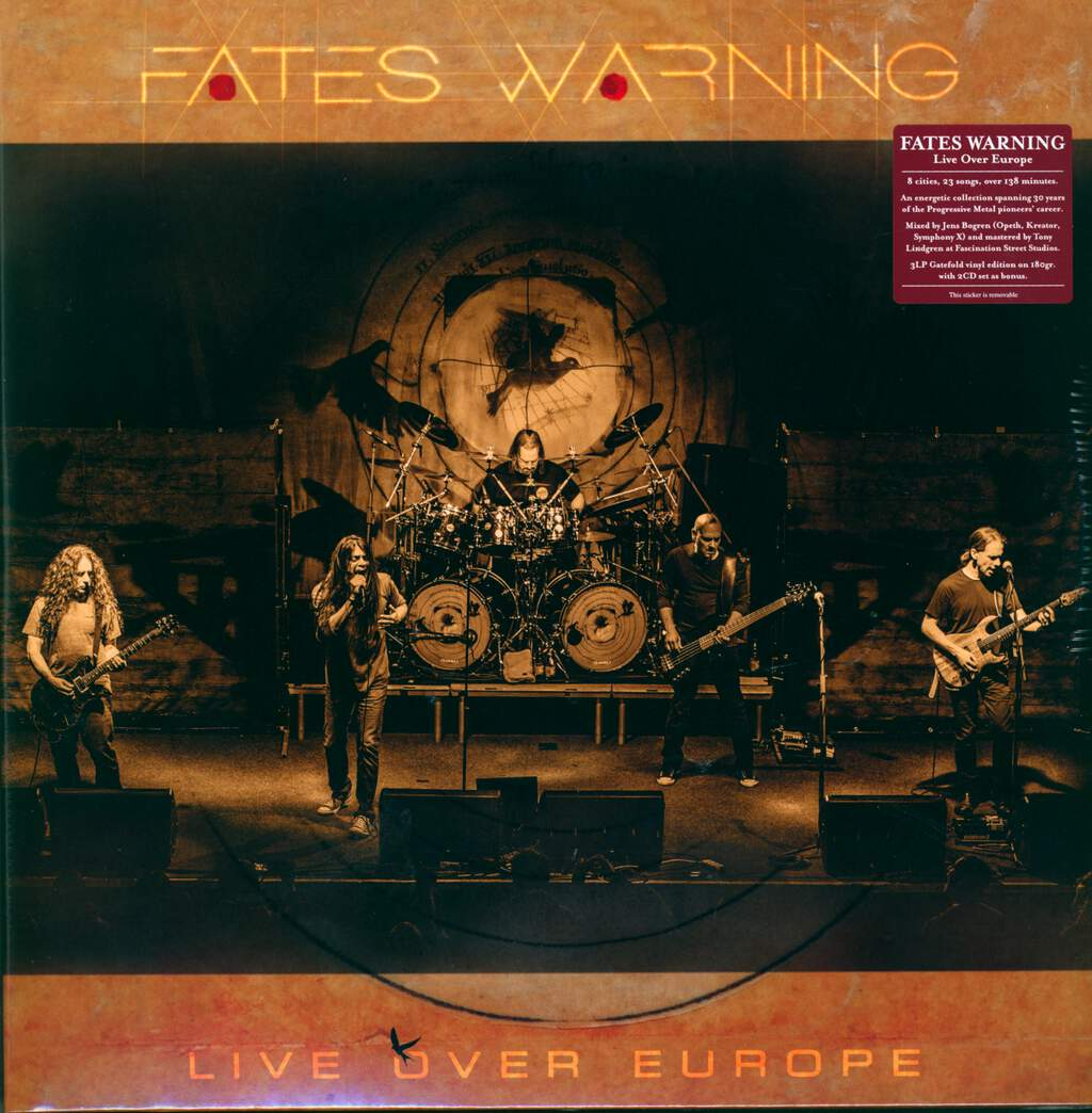 Fates Warning: Live Over Europe, LP (Vinyl)