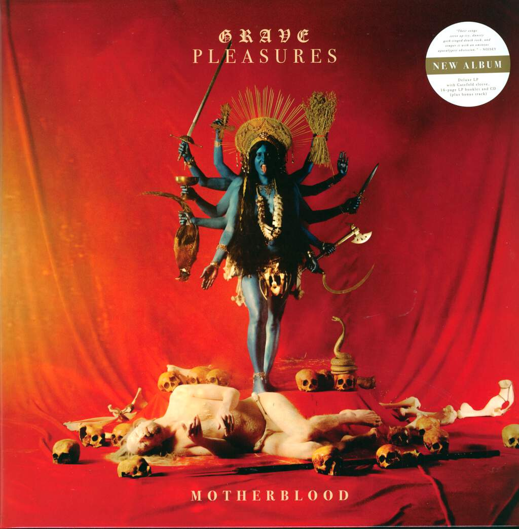 Grave Pleasures: Motherblood, LP (Vinyl)
