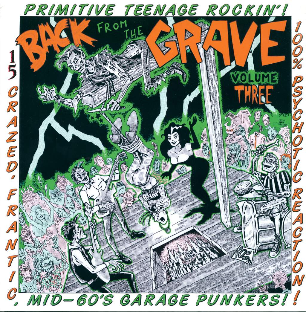 Various: Back From The Grave Volume Three, LP (Vinyl)
