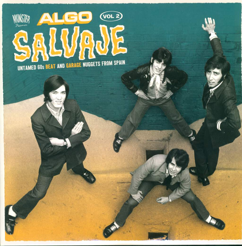 Various: Algo Salvaje (Untamed 60s Beat And Garage Nuggets From Spain Vol.2), LP (Vinyl)