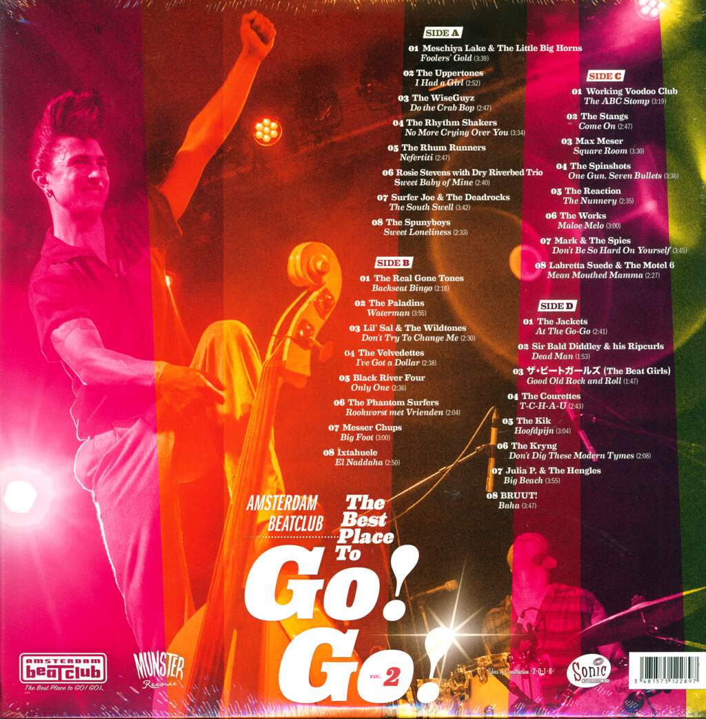Various: Amsterdam Beatclub: The Best Place To Go! Go! 2, LP (Vinyl)