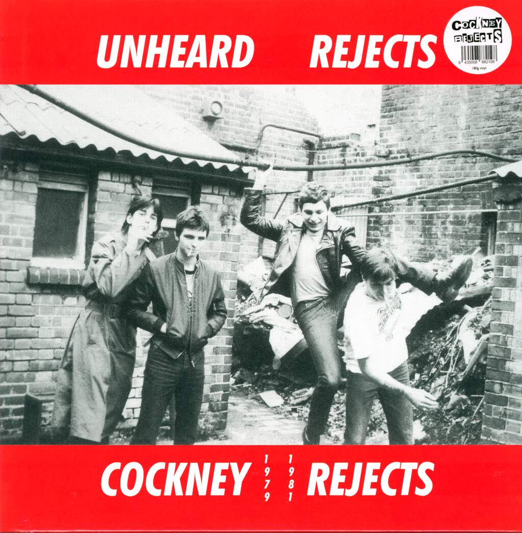 Cockney Rejects: Unheard Rejects, LP (Vinyl)