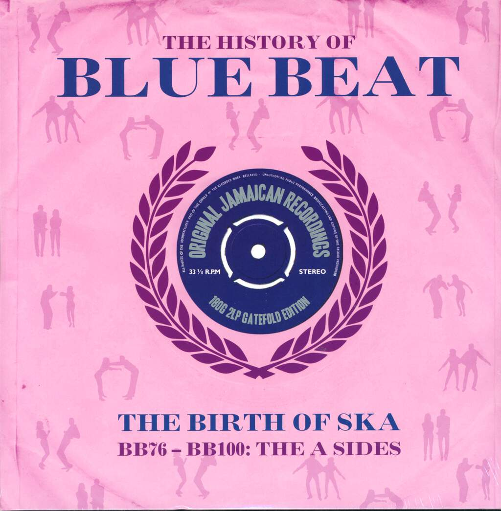 Various: The History Of Blue Beat - The Birth Of Ska BB76 - BB100: The A Sides, 2×LP (Vinyl)