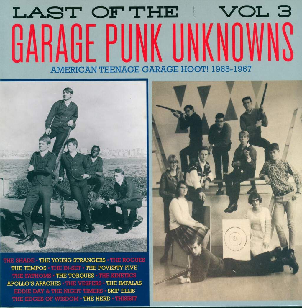 Various: Last Of The Garage Punk Unknowns Vol.3, LP (Vinyl)