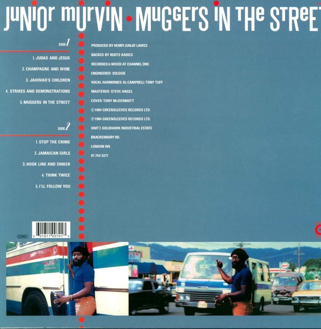 Junior Murvin: Muggers In The Street, LP (Vinyl)