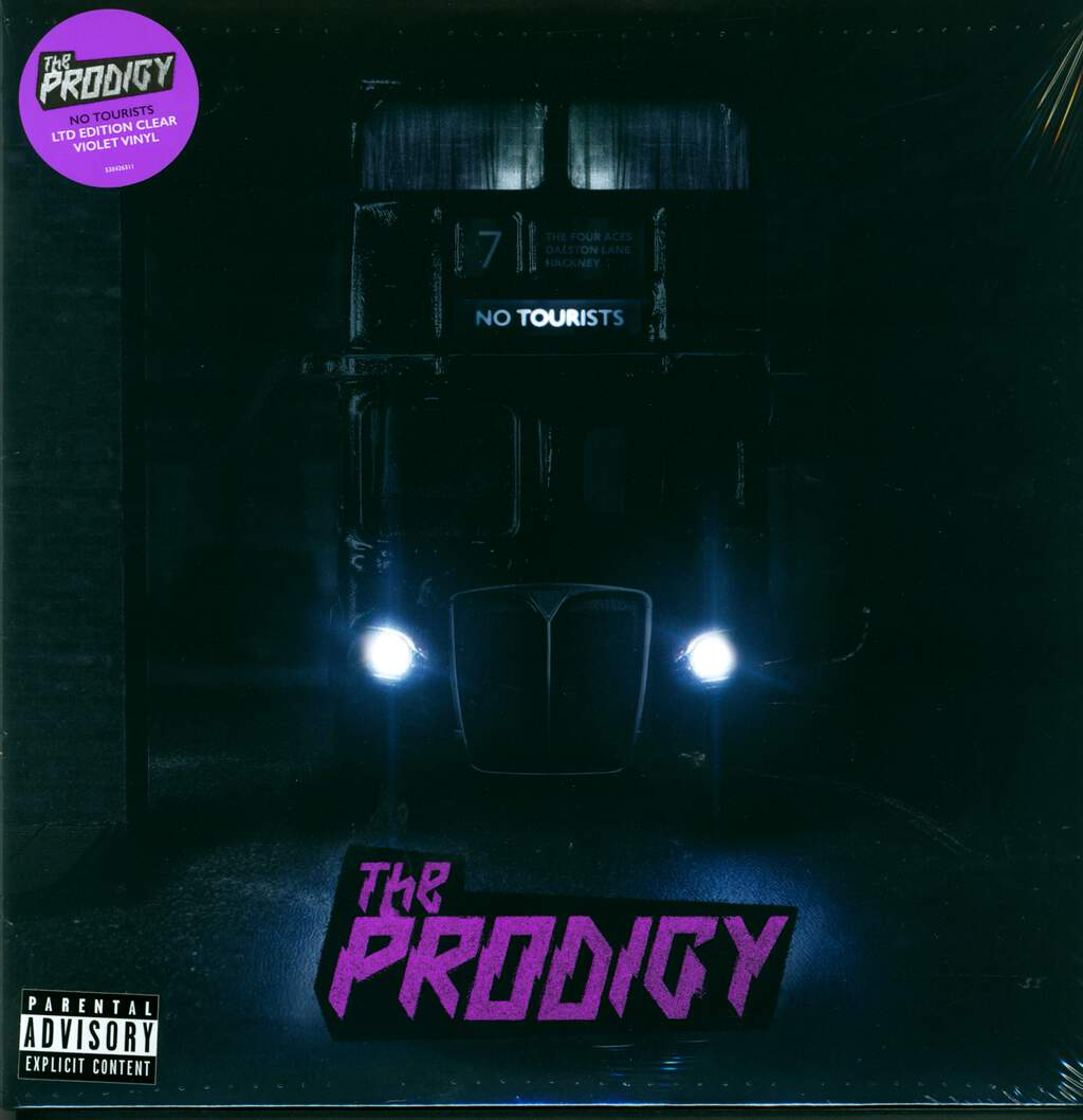 The Prodigy: No Tourists, LP (Vinyl)