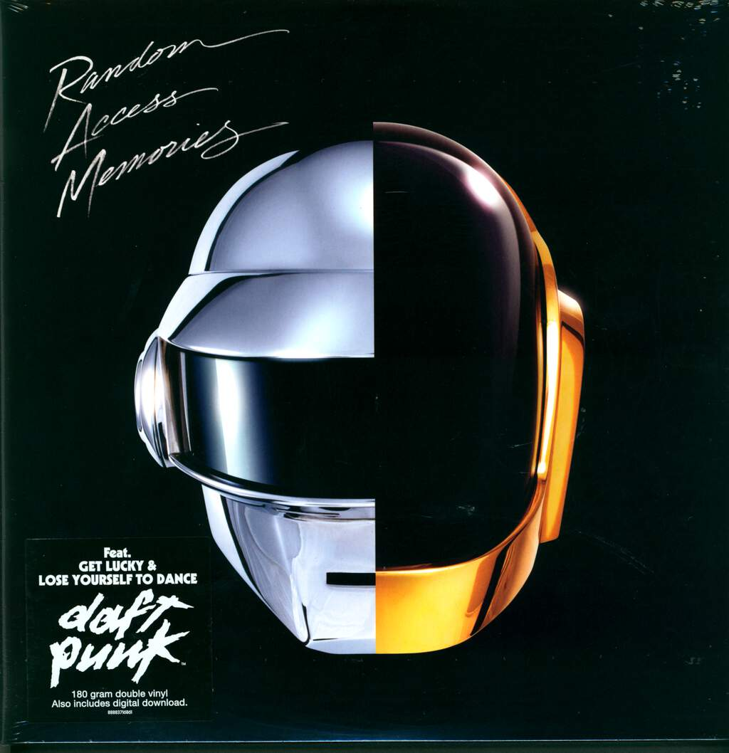 Daft Punk: Random Access Memories, 2×LP (Vinyl)