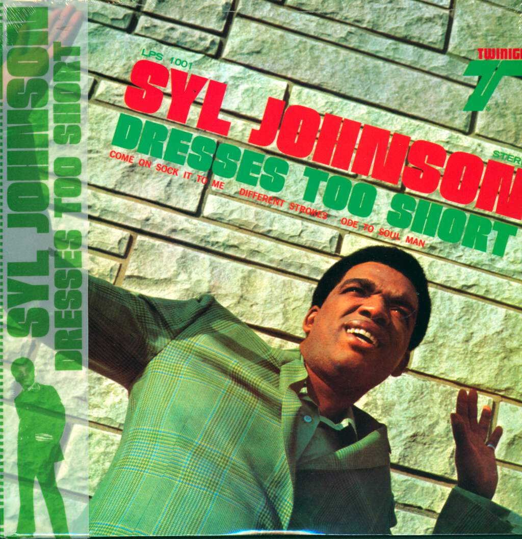 Syl Johnson: Dresses Too Short, LP (Vinyl)