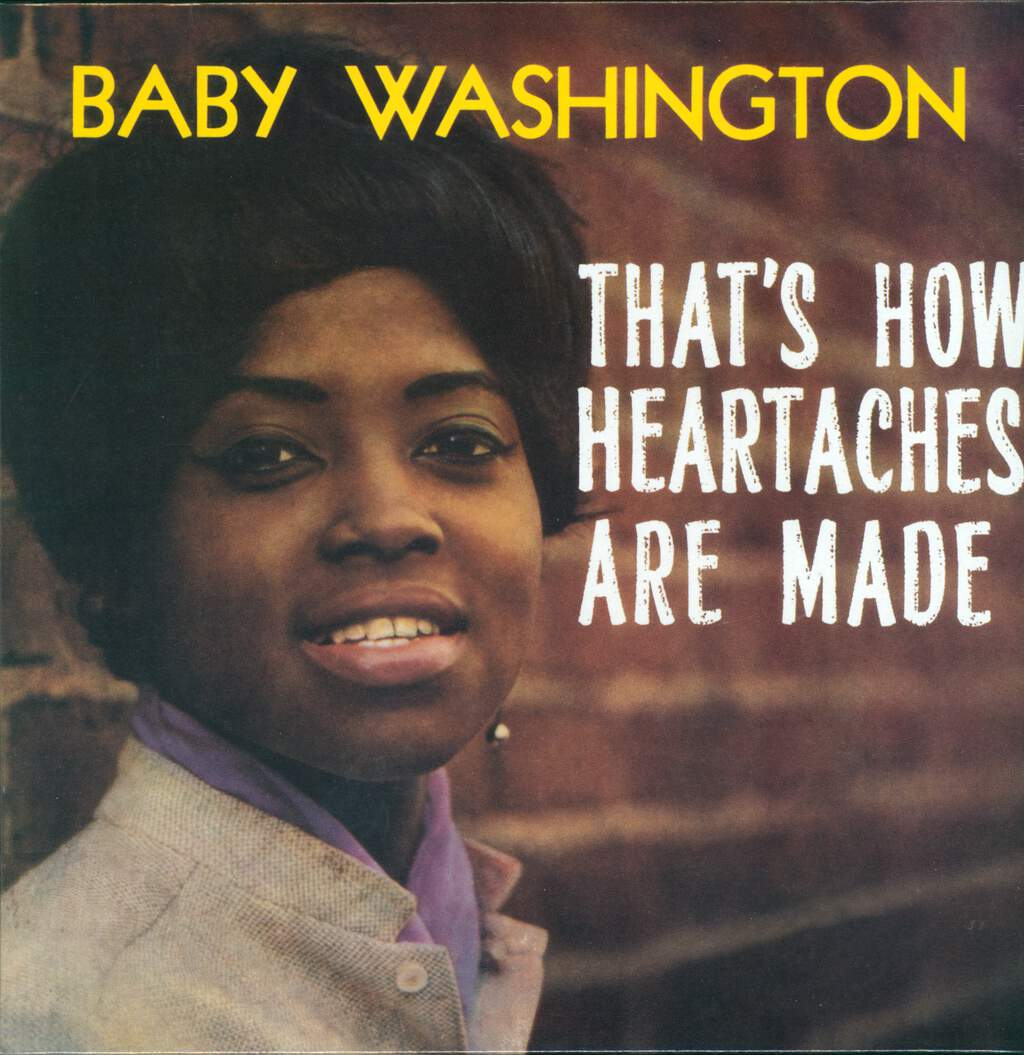 Baby Washington: That's How Heartaches Are Made, LP (Vinyl)