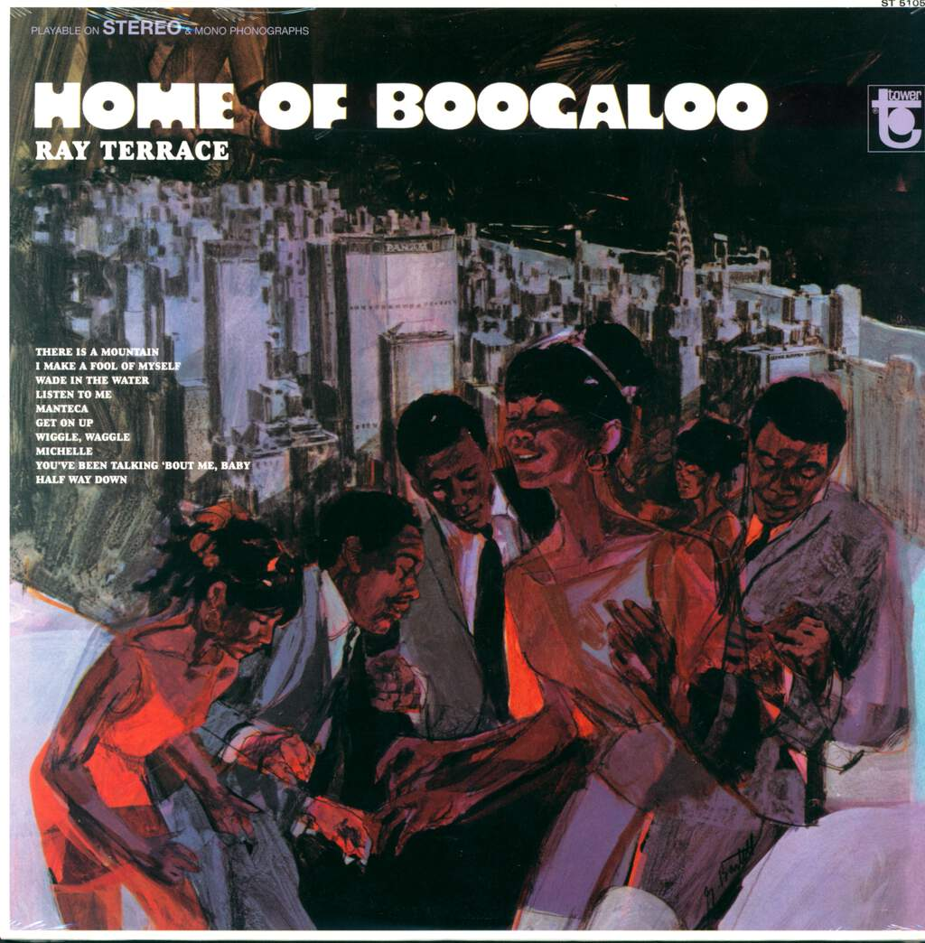 Ray Terrace: Home Of Boogaloo, LP (Vinyl)
