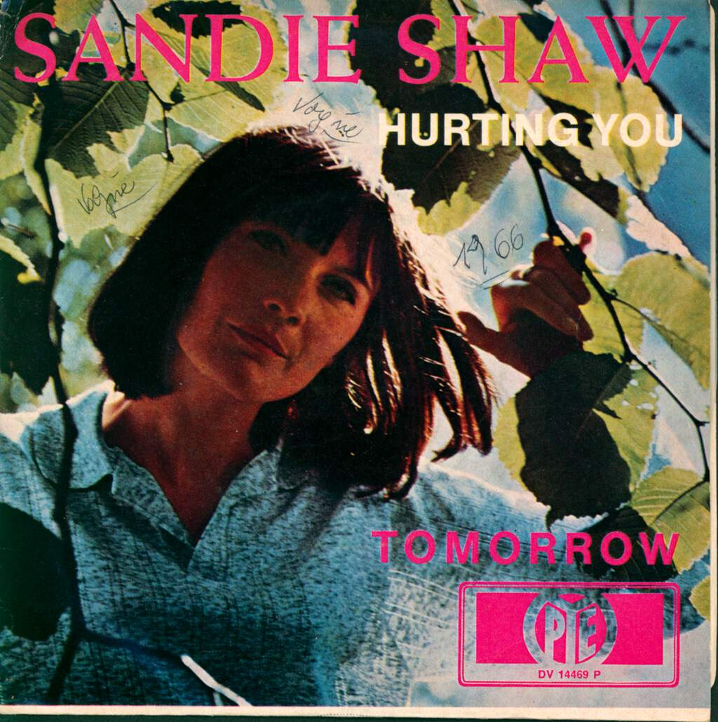 "Sandie Shaw: Hurting You / Tomorrow, 7"" Single (Vinyl)"
