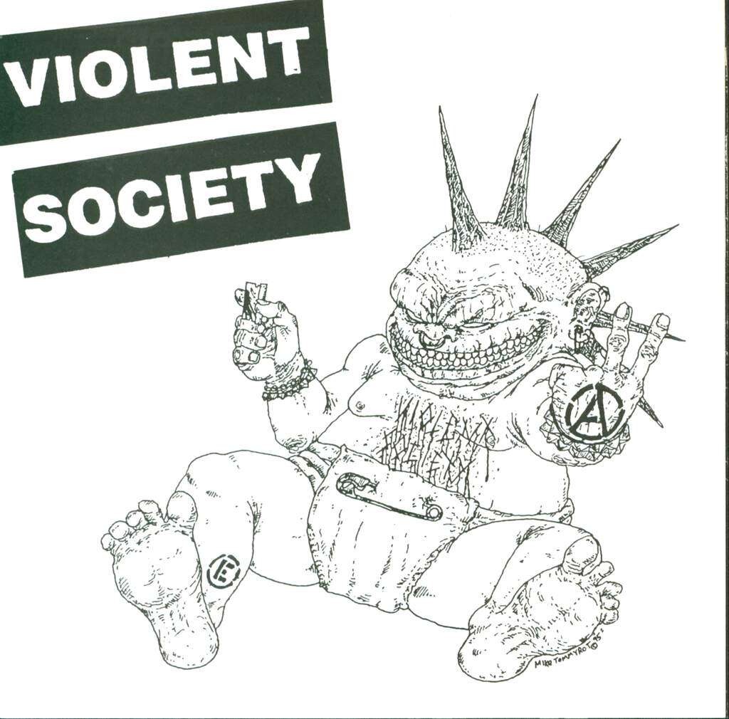 "Violent Society: Violent Society / Tradition Ends..., 7"" Single (Vinyl)"