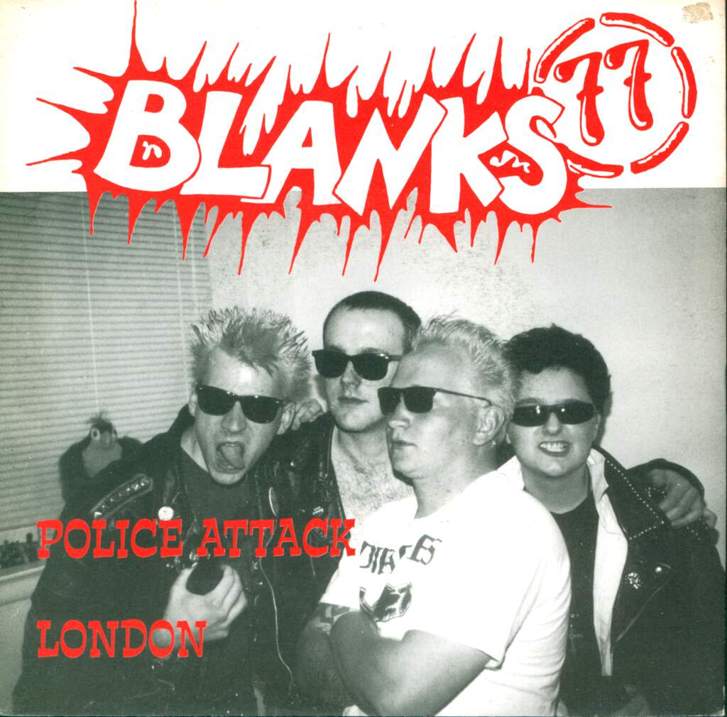 "Blanks 77: Police Attack / Der Traurige Sieger, 7"" Single (Vinyl)"
