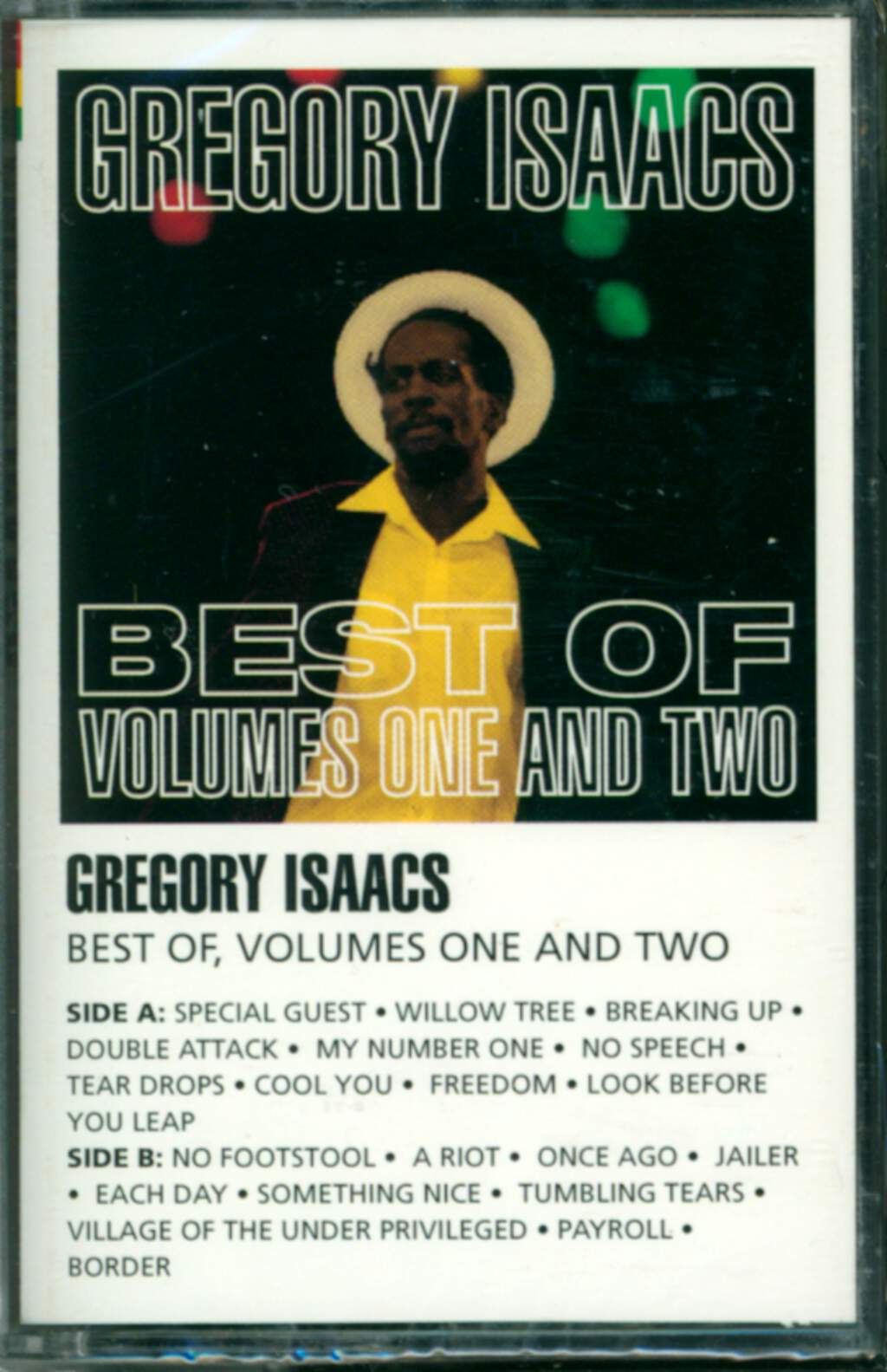 Gregory Isaacs: Best Of Volumes One And Two, Compact Cassette
