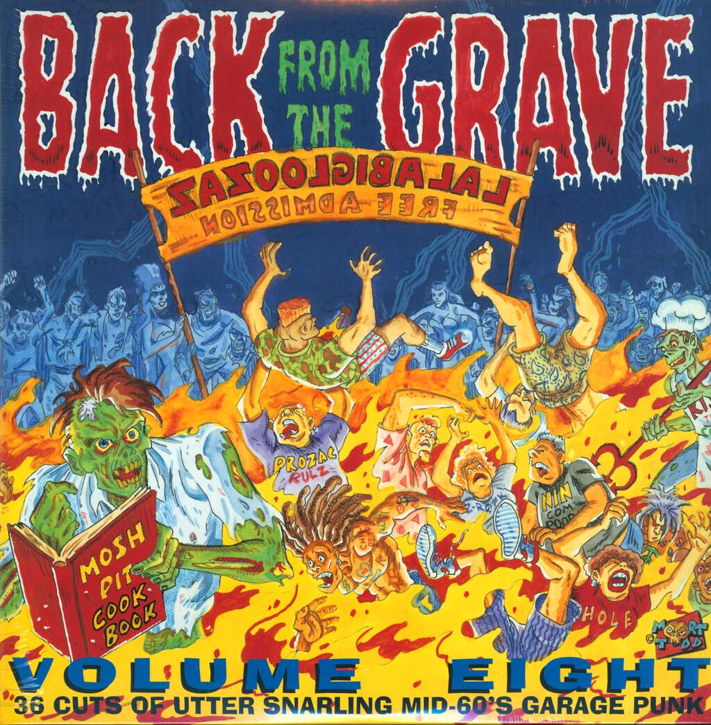 Various: Back From The Grave Volume Eight, LP (Vinyl)