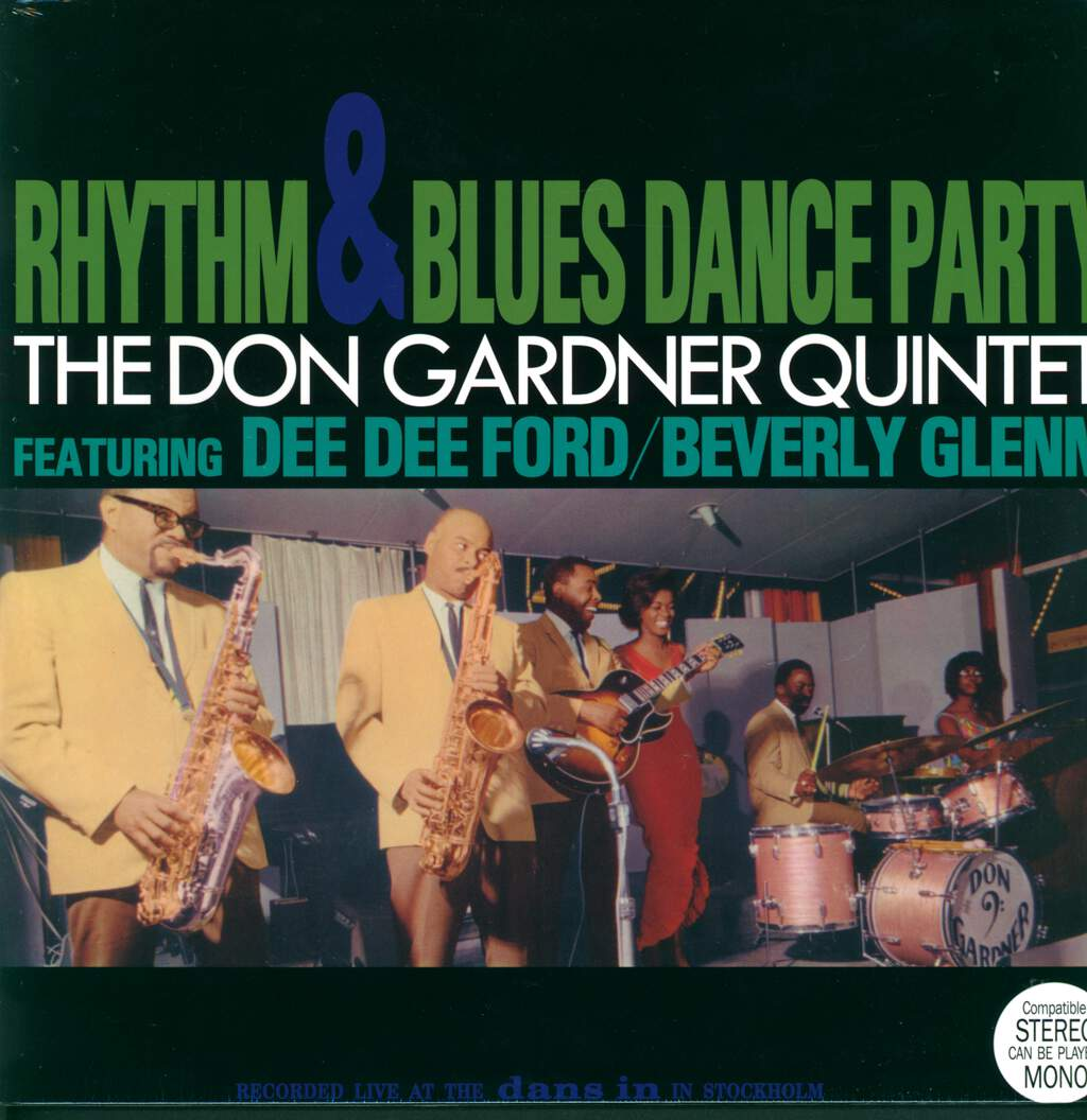 Don Gardner Quintet: Rhythm & Blues Dance Party, LP (Vinyl)