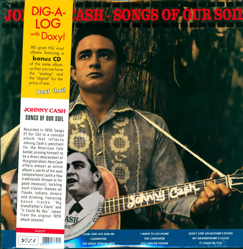 Johnny Cash: Songs Of Our Soil, LP (Vinyl)