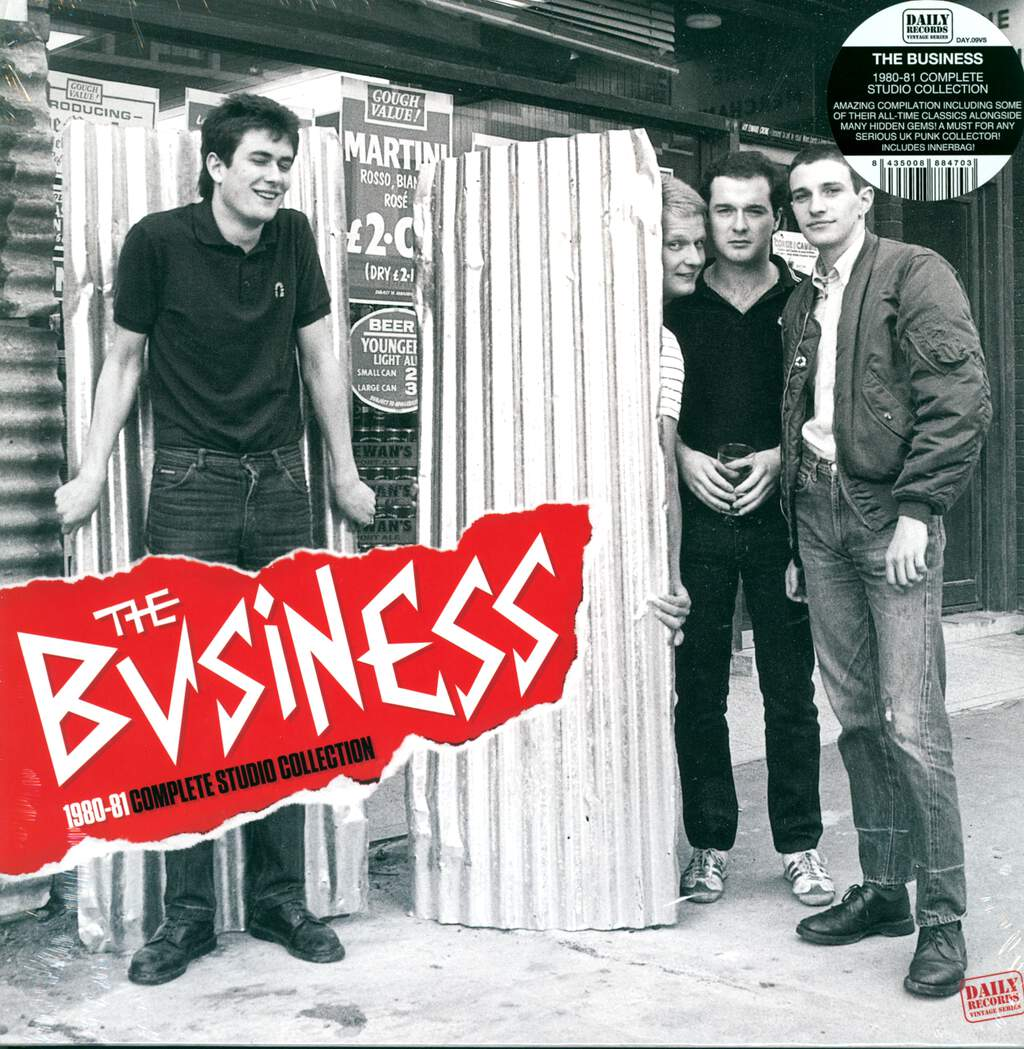 The Business: 1980-81 Complete Studio Collection, LP (Vinyl)