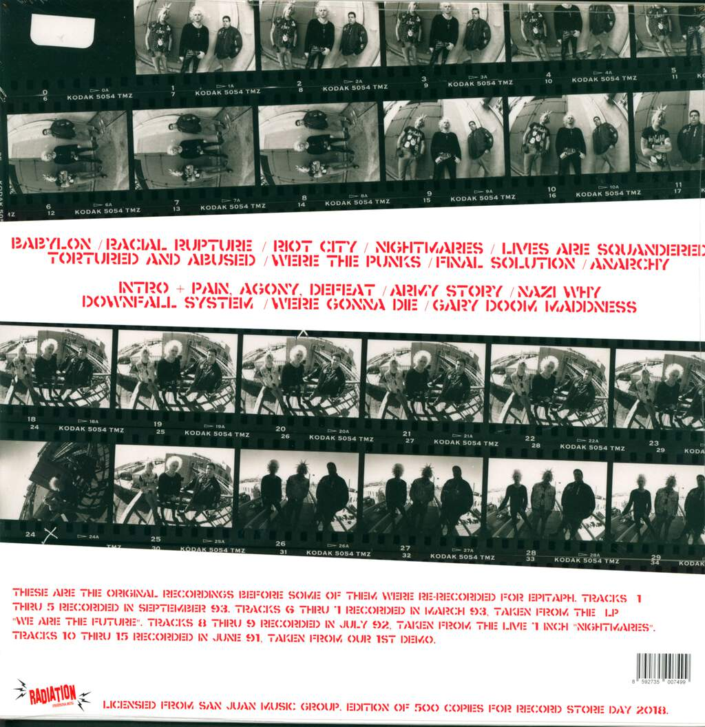 Total Chaos: Early Years 1989-1993, LP (Vinyl)