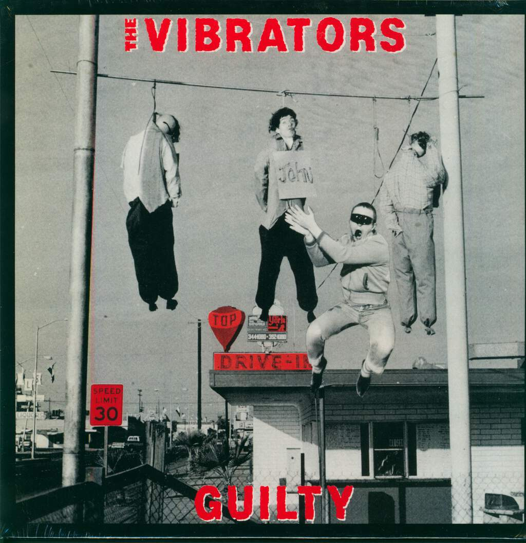 The Vibrators: Guilty, LP (Vinyl)