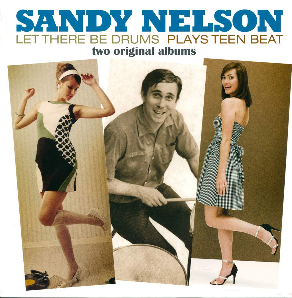 Sandy Nelson: Let There Be Drums + Plays Teen Beat, LP (Vinyl)
