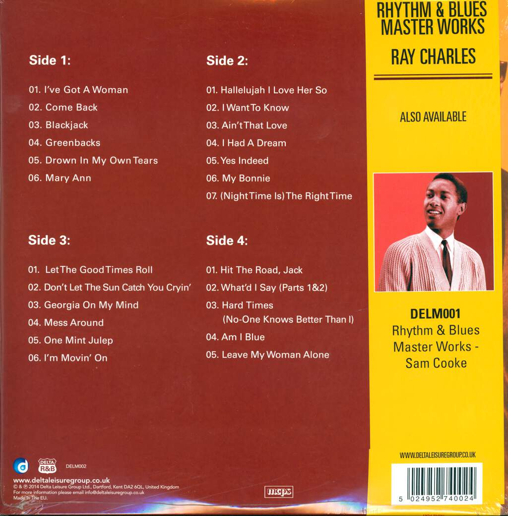 Ray Charles: R&B Works - Ray Charles, LP (Vinyl)