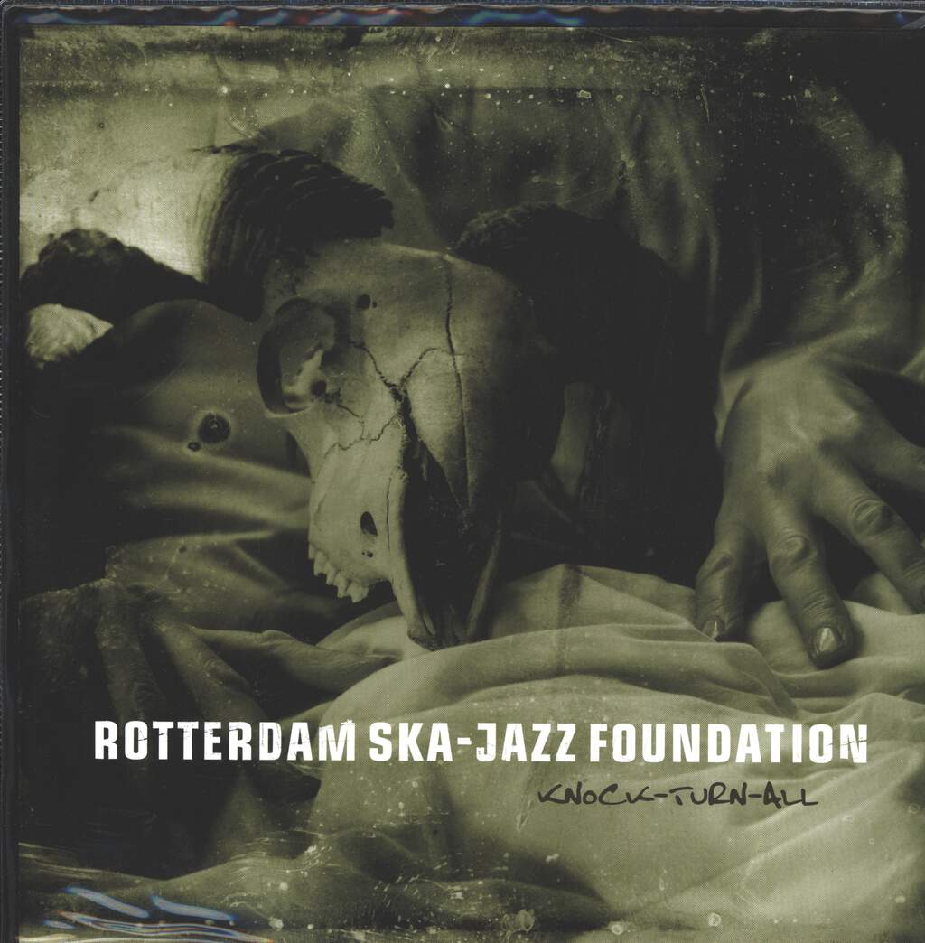 "Rotterdam Ska-Jazz Foundation: Knock-Turn-All, 10"" Vinyl EP"