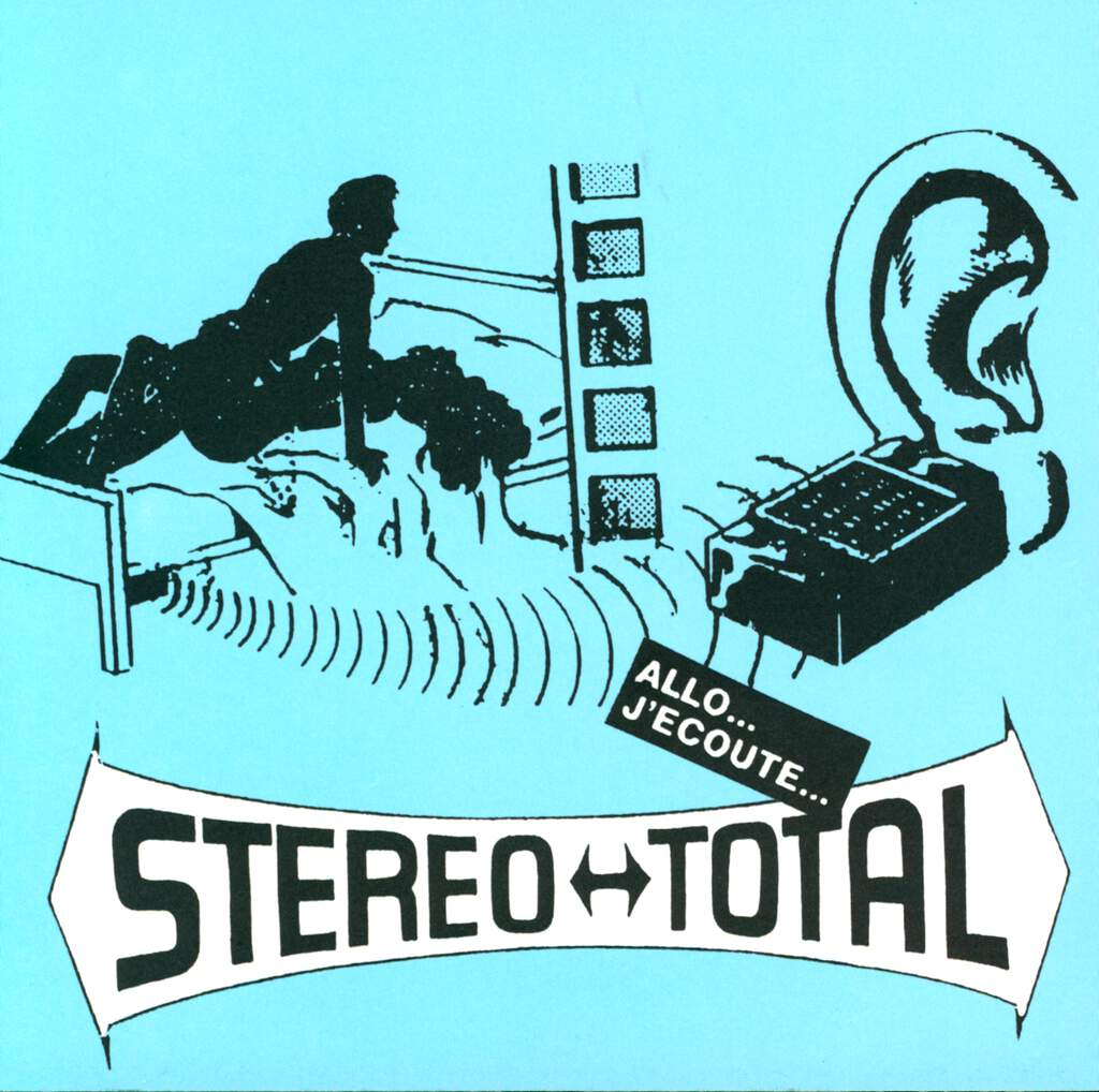 "Stereo Total: Allo...  J'Ecoute..., 7"" Single (Vinyl)"