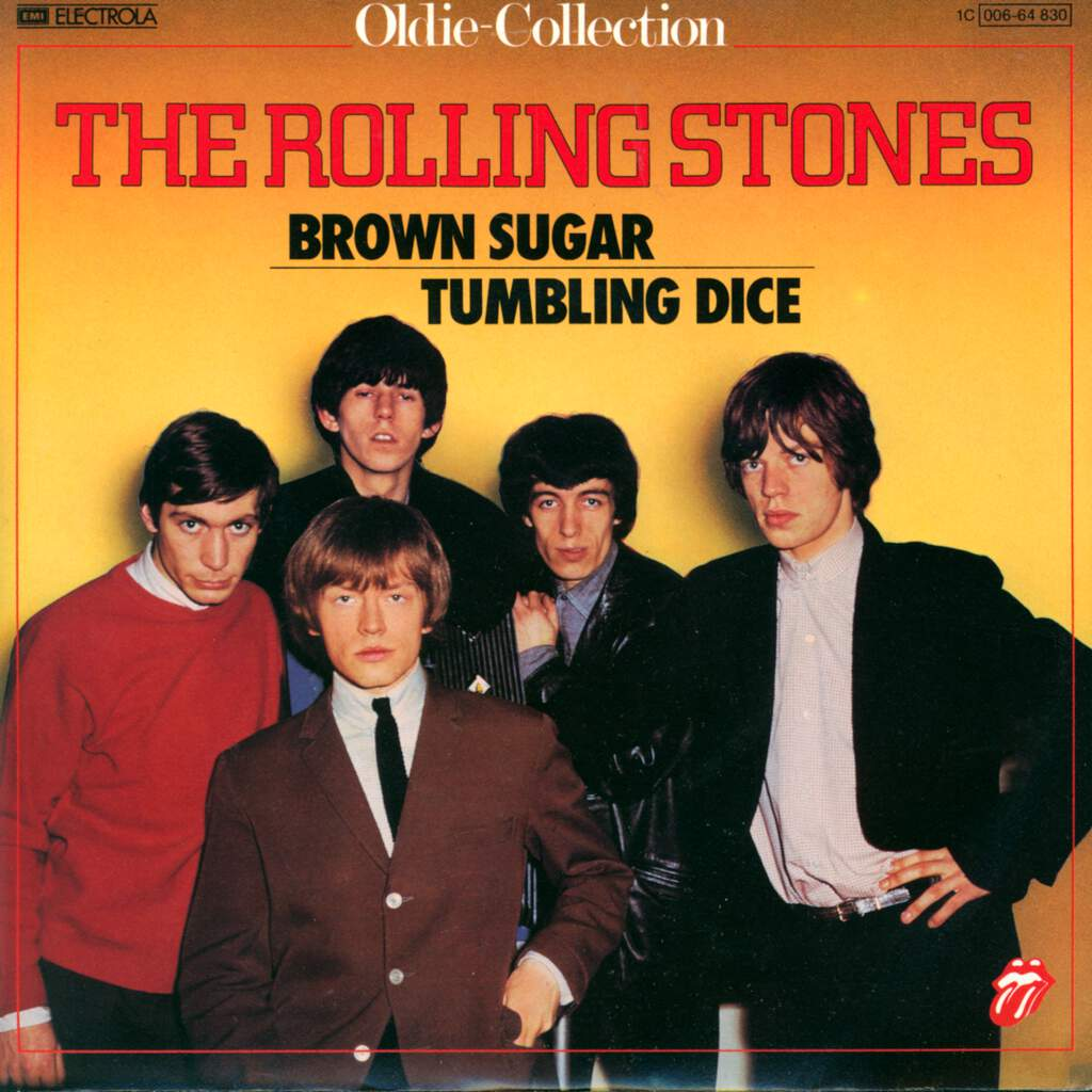 "The Rolling Stones: Brown Sugar / Tumbling Dice, 7"" Single (Vinyl)"