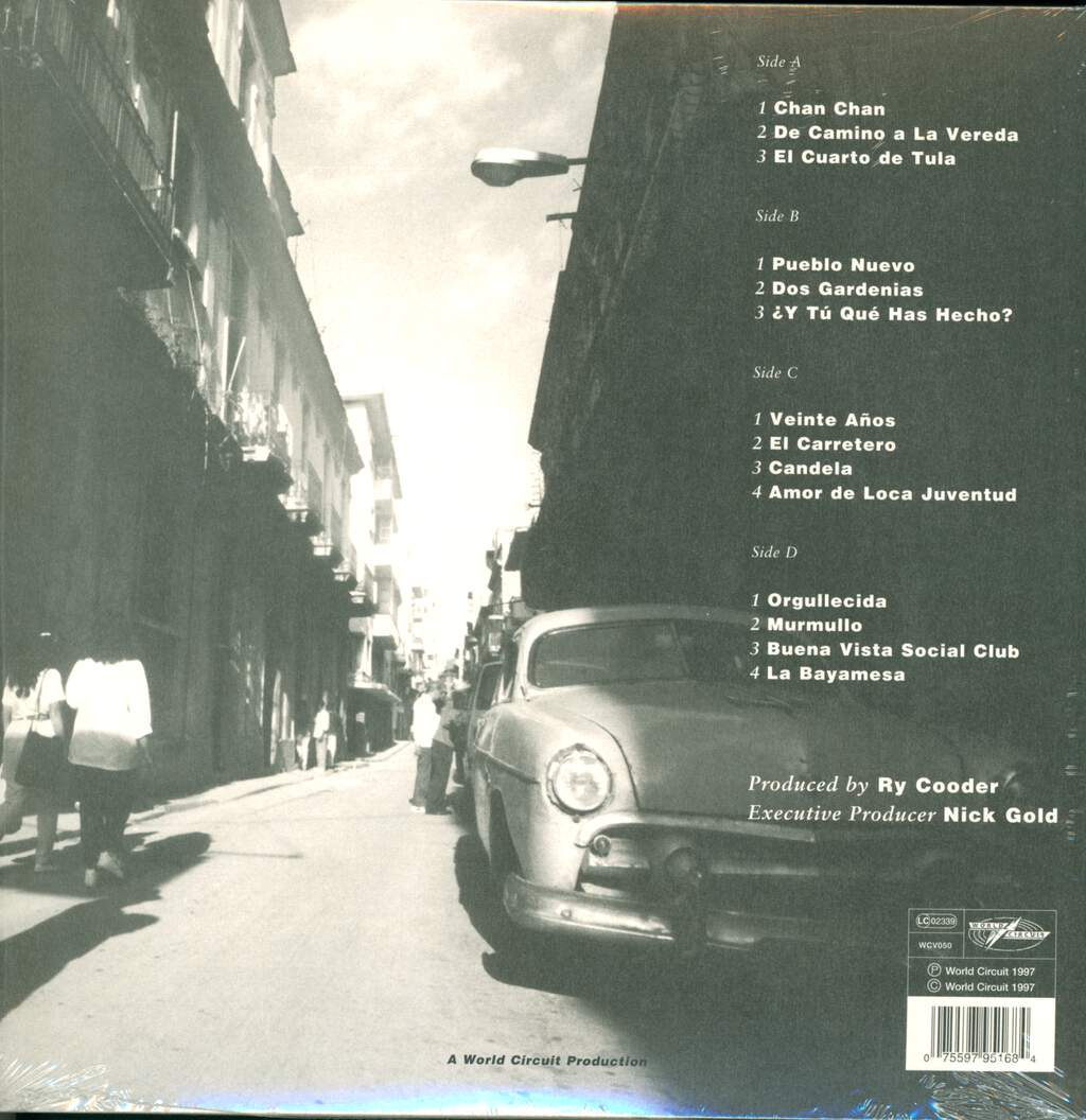 Buena Vista Social Club: Buena Vista Social Club, 2×LP (Vinyl)