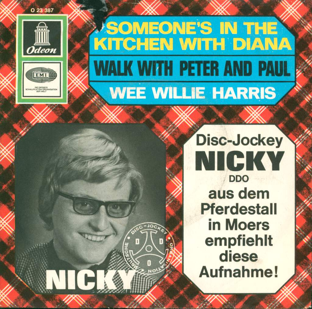 "Wee Willie Harris: Someone´s In The Kitchen With Diana / Walk With Peter And Paul, 7"" Single (Vinyl)"
