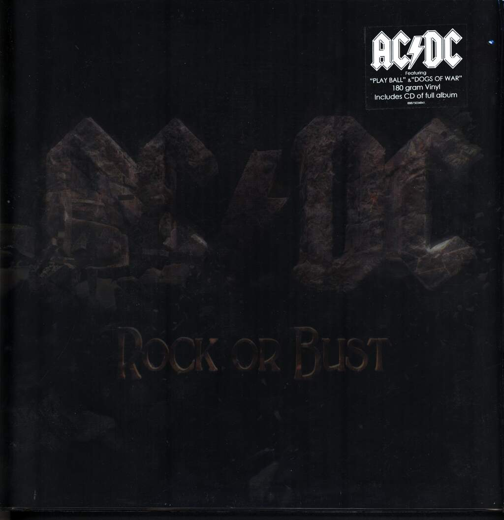 AC/DC: Rock Or Bust, LP (Vinyl)